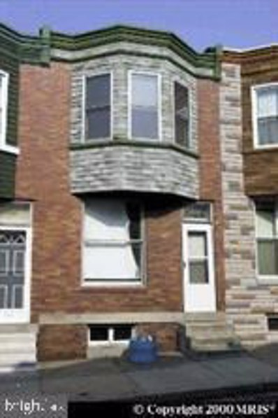 220 Furrow Street, Baltimore, MD 21223 - #: MDBA501878
