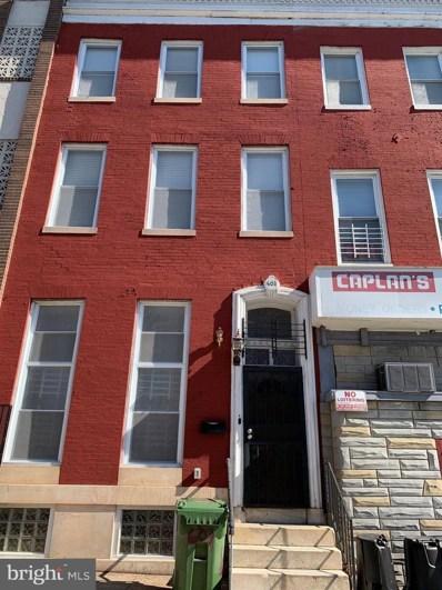 603 N Carey Street, Baltimore, MD 21217 - #: MDBA501942
