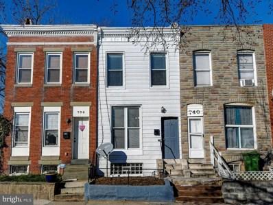 738 E 30TH Street, Baltimore, MD 21218 - #: MDBA502058