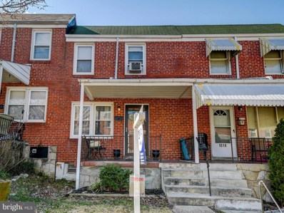 1020 Rockhill Avenue, Baltimore, MD 21229 - #: MDBA502322