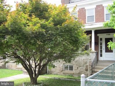 1106 Wood Heights Avenue, Baltimore, MD 21211 - #: MDBA502326