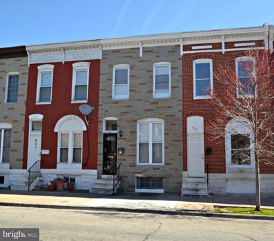 419 N Patterson Park Avenue, Baltimore, MD 21231 - #: MDBA503050