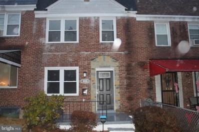 915 Kevin Road, Baltimore, MD 21229 - #: MDBA503240