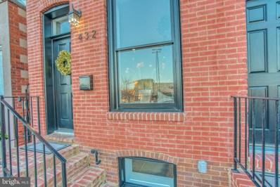 432 Grundy Street, Baltimore, MD 21224 - #: MDBA503550