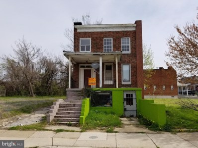 4225 Park Heights Avenue, Baltimore, MD 21215 - #: MDBA503688