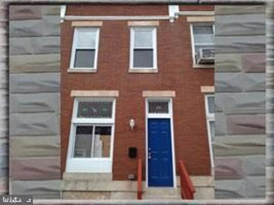1216 N Luzerne Avenue, Baltimore, MD 21213 - #: MDBA504010