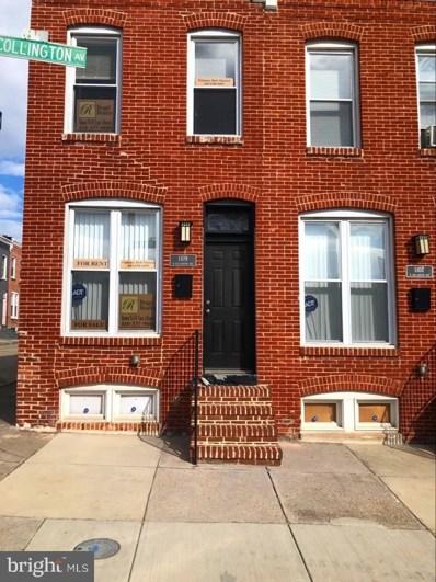 1109 N Collington Avenue, Baltimore, MD 21213 - #: MDBA504274