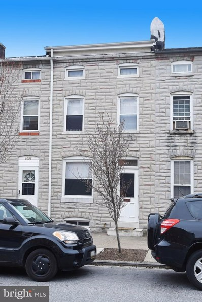 2051 Gough Street, Baltimore, MD 21231 - #: MDBA504476