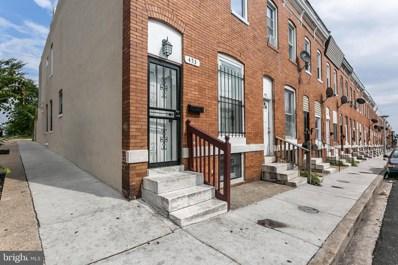 453 N Curley Street, Baltimore, MD 21224 - #: MDBA504548
