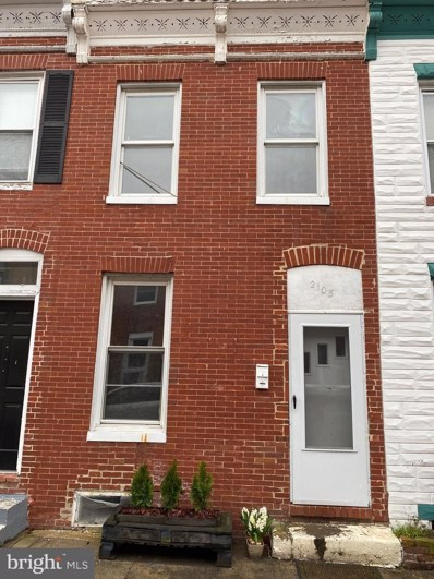 2105 Moyer Street, Baltimore, MD 21231 - #: MDBA504754