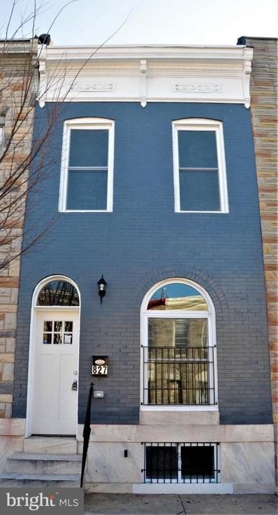 827 N Montford Avenue, Baltimore, MD 21205 - #: MDBA505004