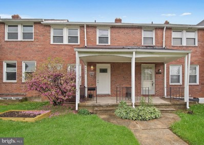 4642 Marble Hall Road, Baltimore, MD 21239 - #: MDBA505136
