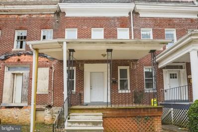 3907 Ridgewood Avenue, Baltimore, MD 21215 - #: MDBA505344