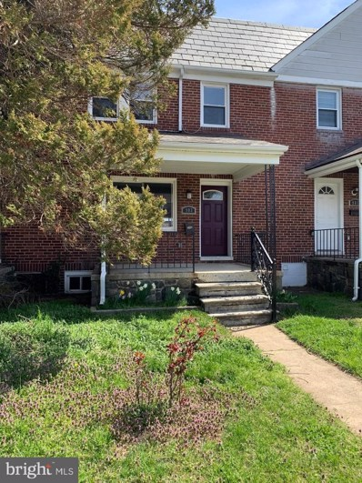 903 N Woodington Road, Baltimore, MD 21229 - #: MDBA505906