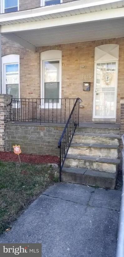1819 E 29TH Street, Baltimore, MD 21218 - #: MDBA506084