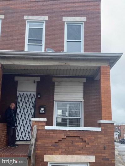 507 N Decker Avenue, Baltimore, MD 21205 - #: MDBA506152