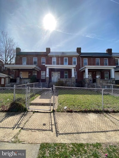 3803 Norfolk Avenue, Baltimore, MD 21216 - #: MDBA506492