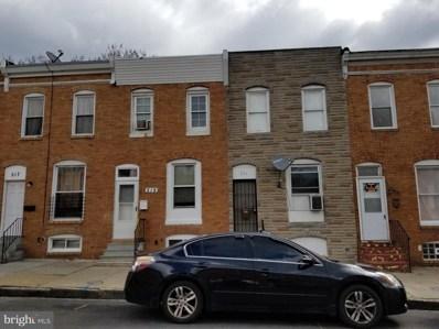 519 S Bentalou Street, Baltimore, MD 21223 - #: MDBA506880