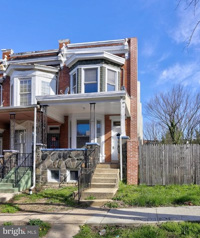 2926 Mosher Street, Baltimore, MD 21216 - #: MDBA507172