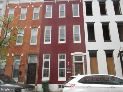 1816 McCulloh Street, Baltimore, MD 21217 - #: MDBA507208