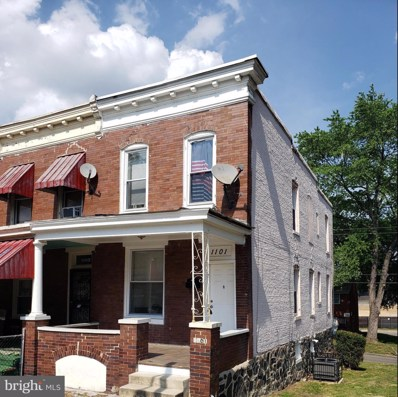 1101 Ashburton Street, Baltimore, MD 21216 - #: MDBA507214