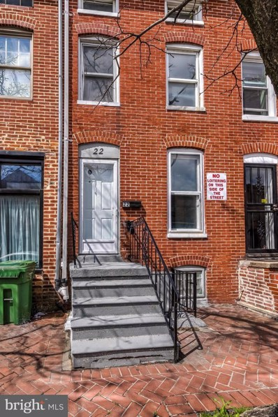22 S Carrollton Avenue, Baltimore, MD 21223 - #: MDBA507234