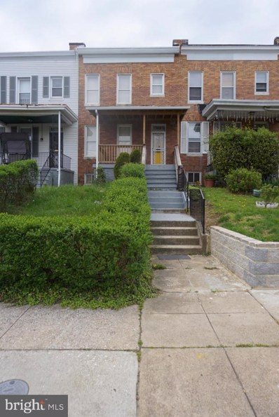 1526 N Smallwood Street, Baltimore, MD 21216 - #: MDBA507320