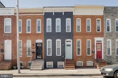 1137 W Cross Street, Baltimore, MD 21230 - #: MDBA507604