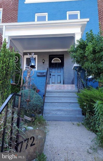 772 N Edgewood Street, Baltimore, MD 21229 - #: MDBA507658