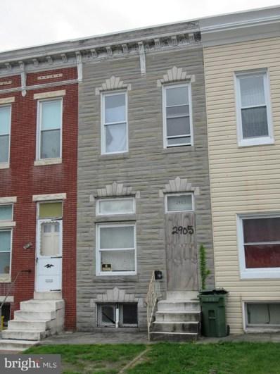 2905 Frederick Avenue, Baltimore, MD 21223 - #: MDBA507678