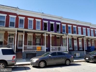 1821 Penrose Avenue, Baltimore, MD 21223 - #: MDBA507708