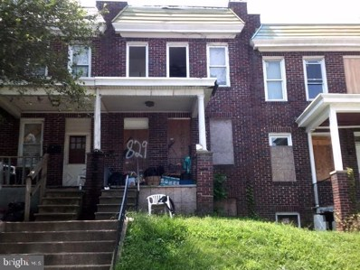 829 Pontiac Avenue, Baltimore, MD 21225 - #: MDBA508048
