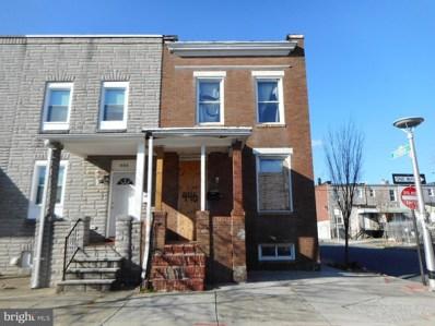 446 N Bouldin Street, Baltimore, MD 21224 - MLS#: MDBA508062