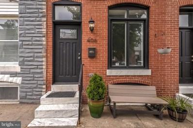 406 S Clinton Street, Baltimore, MD 21224 - #: MDBA508644