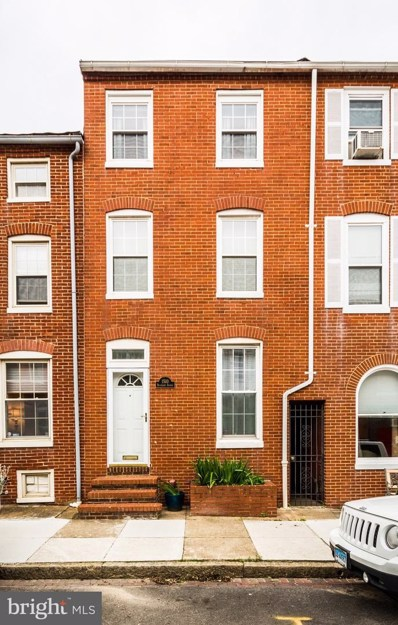 1510 Riverside Avenue, Baltimore, MD 21230 - #: MDBA509290