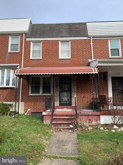 5436 Force Road, Baltimore, MD 21206 - #: MDBA509670