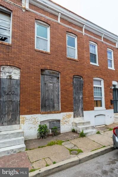 804 N Rose Street, Baltimore, MD 21205 - #: MDBA509732