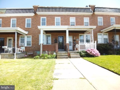 3721 Wilkens Avenue, Baltimore, MD 21229 - #: MDBA509808