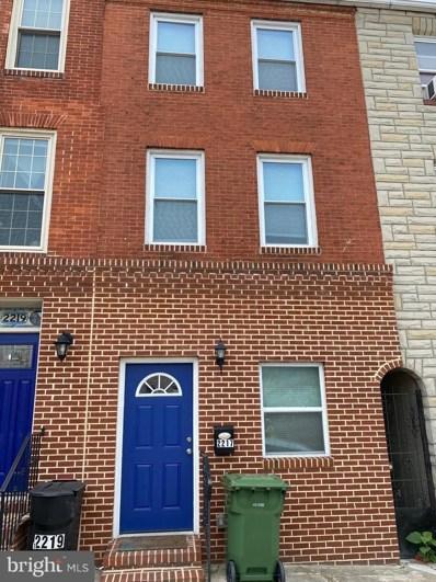 2217 Eastern Avenue, Baltimore, MD 21231 - #: MDBA510758