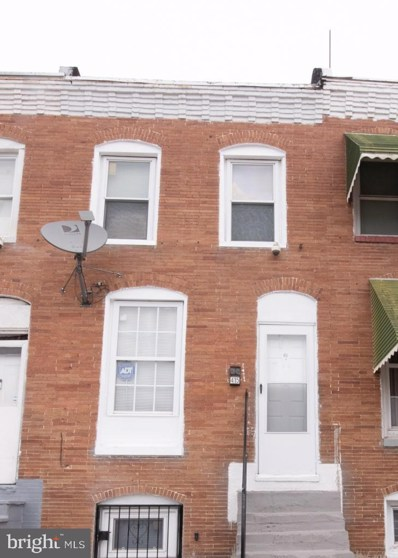 415 East Lynne Avenue, Baltimore, MD 21223 - #: MDBA510846