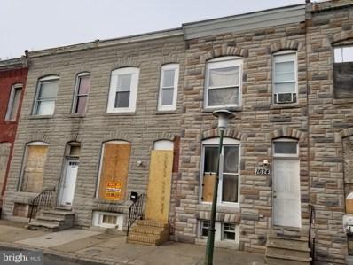 1624 N Port Street, Baltimore, MD 21213 - #: MDBA511016