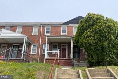 2502 Oswego Avenue, Baltimore, MD 21215 - MLS#: MDBA511112