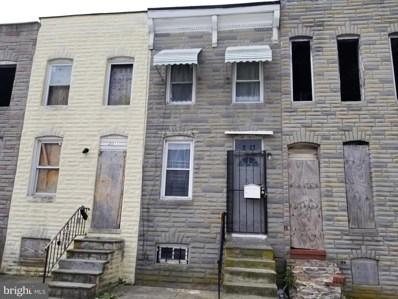 2013 McHenry Street, Baltimore, MD 21223 - #: MDBA511128