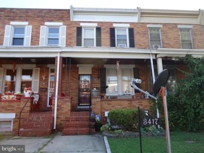 3417 Dudley Avenue, Baltimore, MD 21213 - MLS#: MDBA511286
