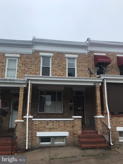 2860 Kentucky Avenue, Baltimore, MD 21213 - #: MDBA511318
