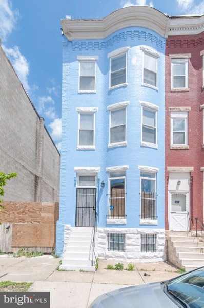 510 E 21ST Street, Baltimore, MD 21218 - #: MDBA511528