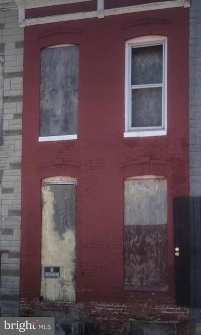 1937 Ramsay Street, Baltimore, MD 21223 - #: MDBA511696