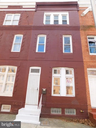 437 E Lanvale Street, Baltimore, MD 21202 - MLS#: MDBA512386