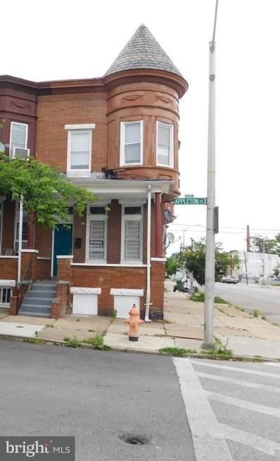1601 Appleton, Baltimore, MD 21217 - #: MDBA512462