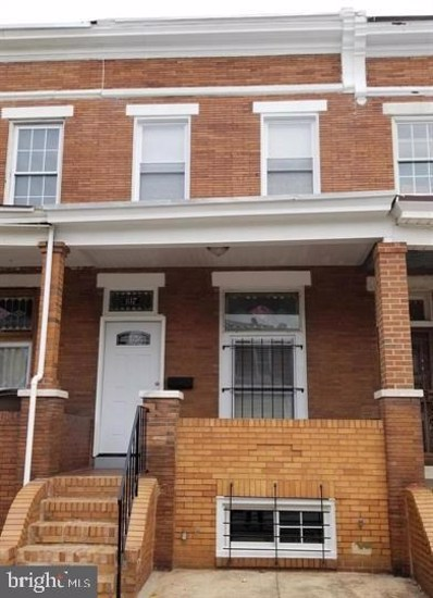 817 N Linwood Avenue, Baltimore, MD 21205 - #: MDBA512464